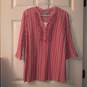 Women's PS Liz&Me striped blouse